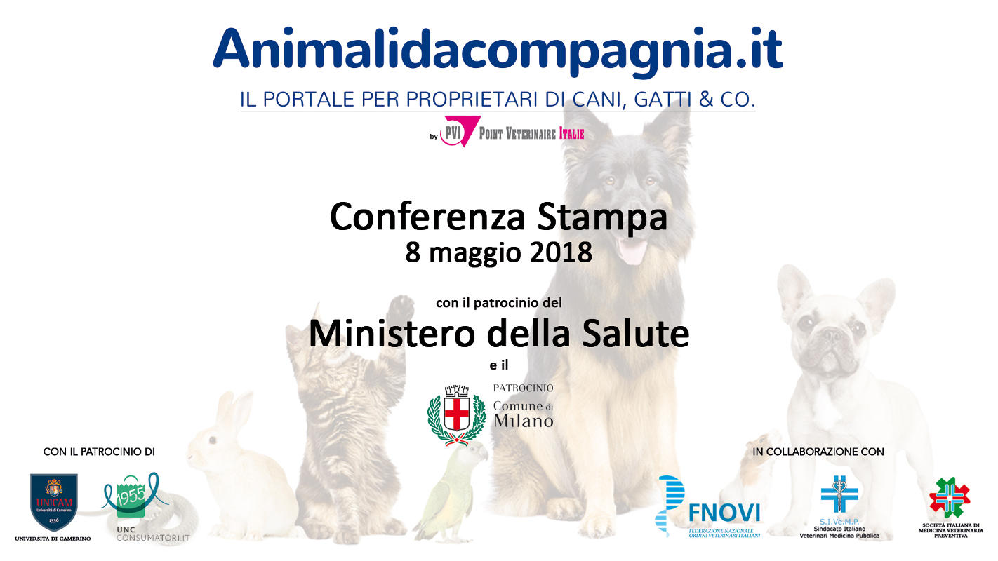 Animalidacompagnia.it - conferenza stampa 8 maggio