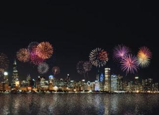 fuochi d'artificio a rumore ridotto