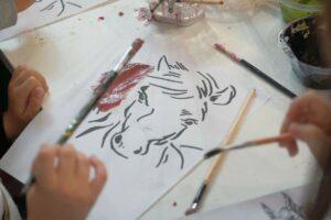 iniziative di Fieracavalli asino disegno